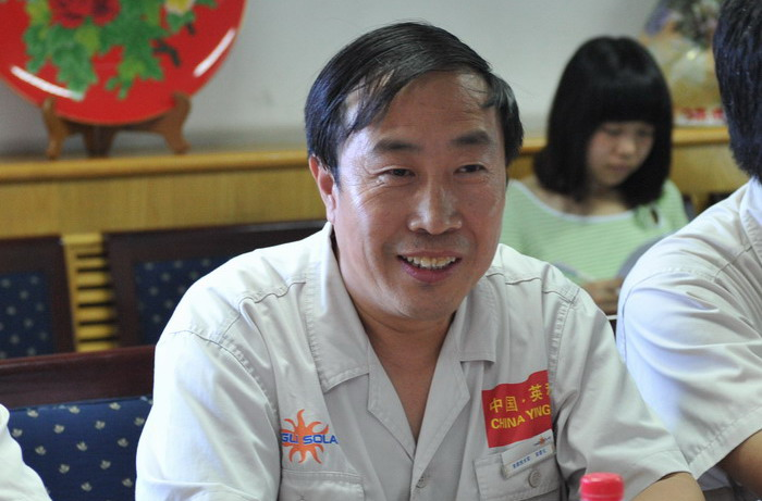 yingli group came to our university to discuss cooperation图片